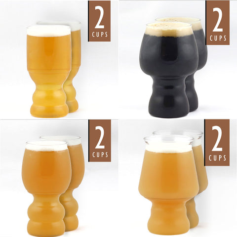 Outdoor Craft Beer Cups Variety | 8-Pack*