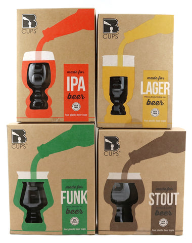 Outdoor Craft Beer Cups Variety | 16-Pack