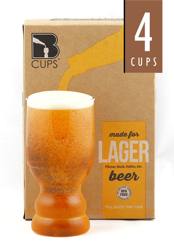 17 Ounce Lager Outdoor Cups | 4-Pack