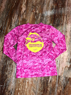 Logo Camo Performance - Hot Pink