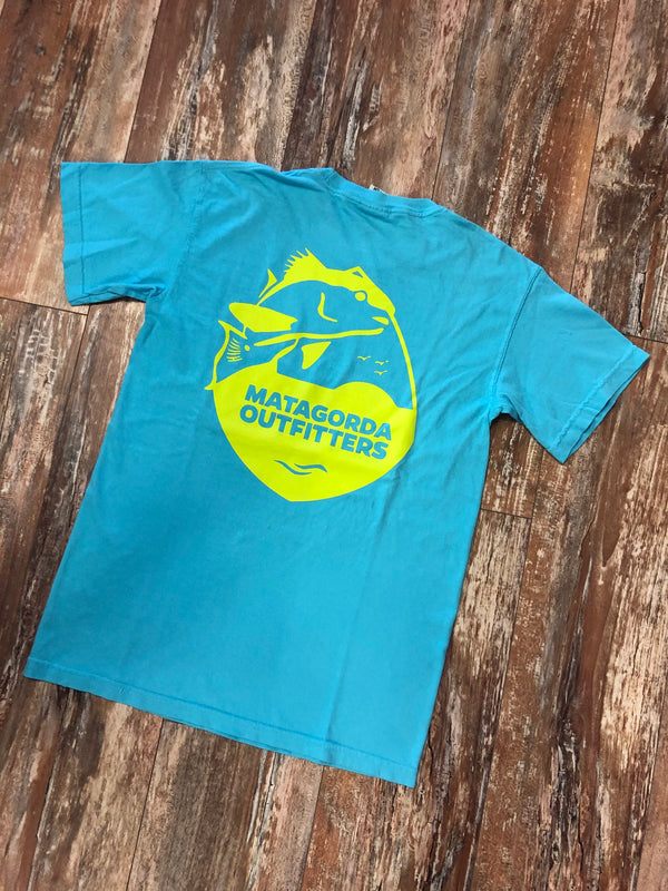Classic Logo Single Color - Neon Yellow/Teal