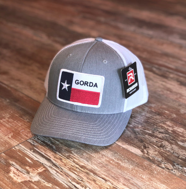 GORDA Patch Hat - Grey/White