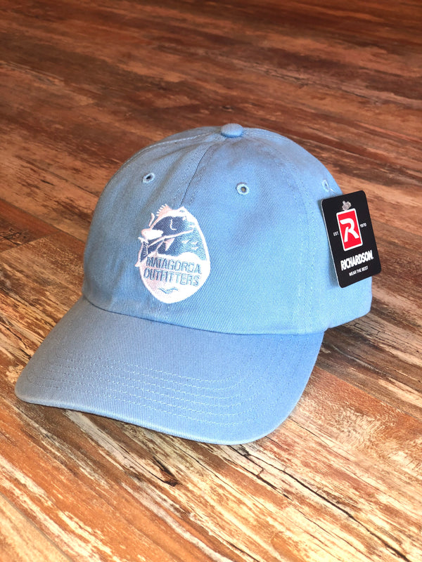 Classic Logo Dad Hat - Blue/White