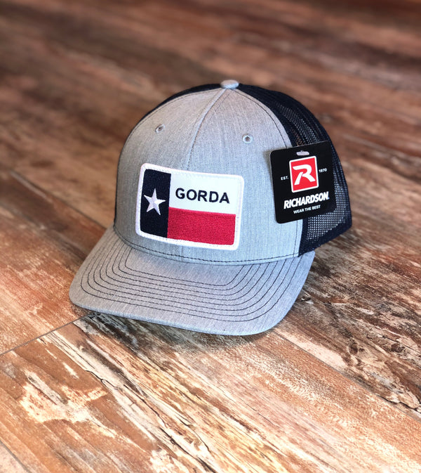 GORDA Patch Hat - Grey/Navy