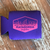 Tailing Red Koozie - purple/ neon pink