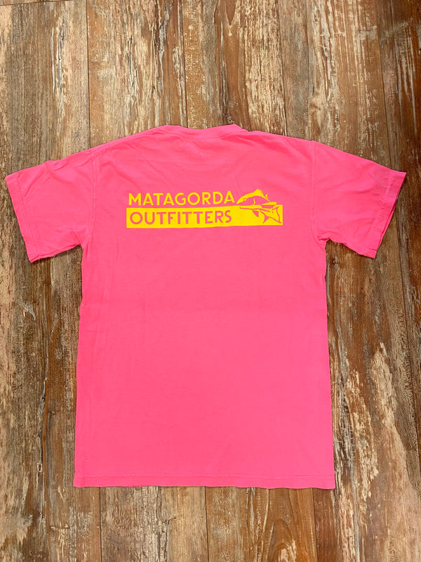 MO Original Logo - Neon pink/ yellow