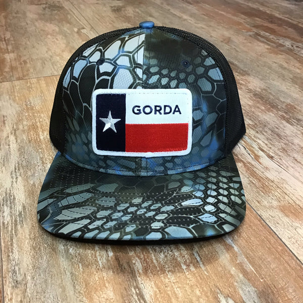 GORDA patch hat - krypton/black