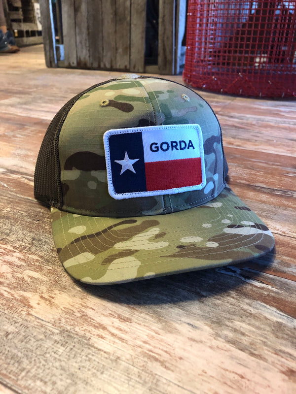 GORDA Flag- Camo/brown