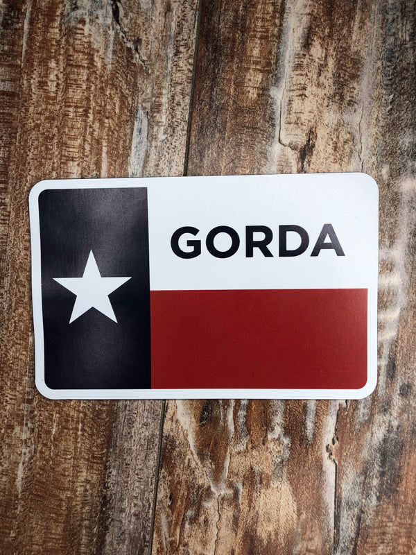 GORDA Flag Magnet
