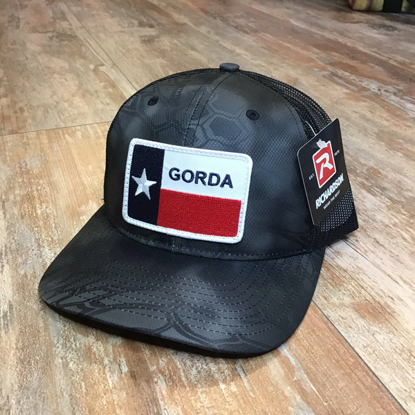 GORDA patch hat - typhon/black