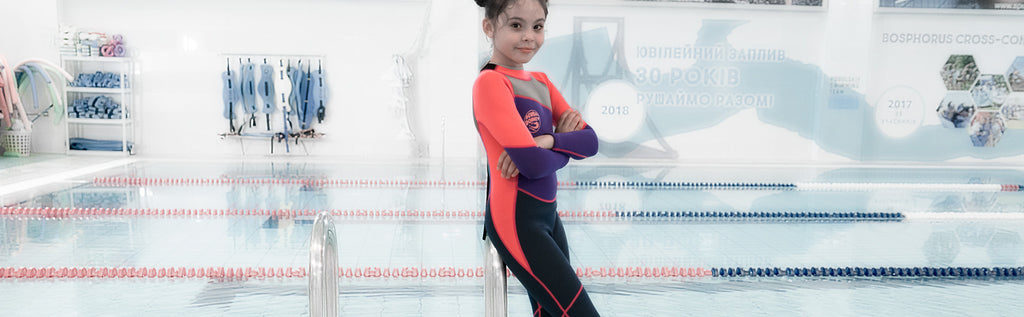 Scubadonkey kids toddlers wetsuit surfing scuba diving kayaking snorkeling