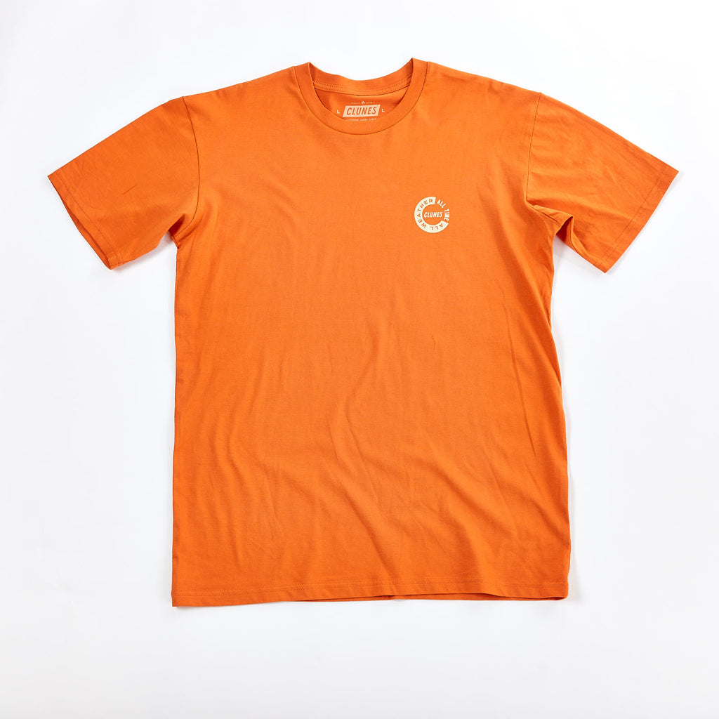 All Weather All Time Tee Orange