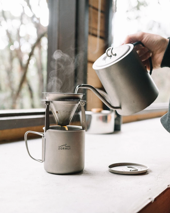 Camp Pour Over Kettle