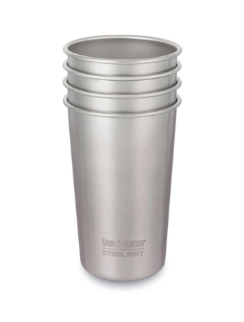 Steel Pints - Set of 4