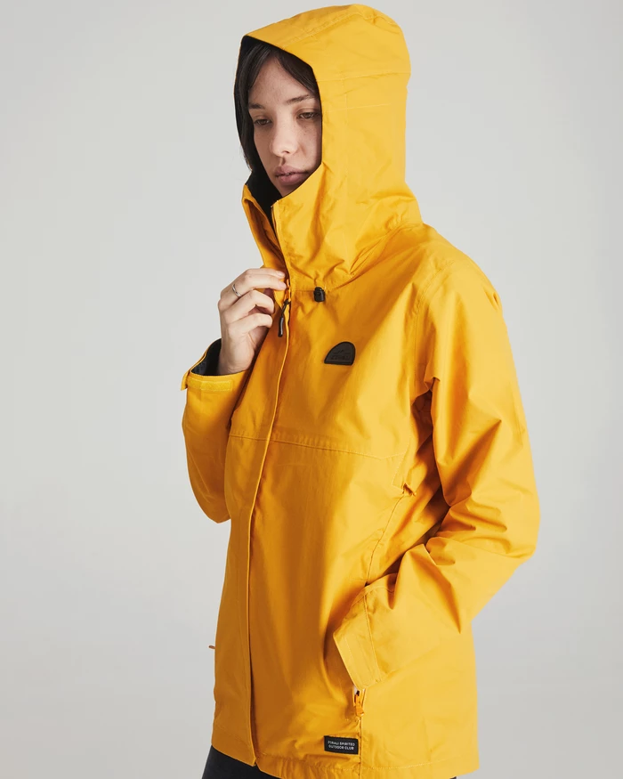 Waterproof Jacket Mustard