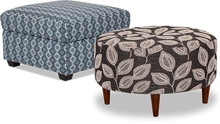 accent ottomans