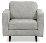 Zuri collection grey chair