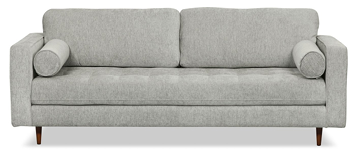 Zuri collection grey sofa