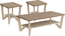 3-piece table package with end tables