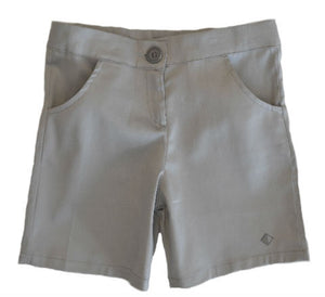 Petalos Collection Boy Short Grey
