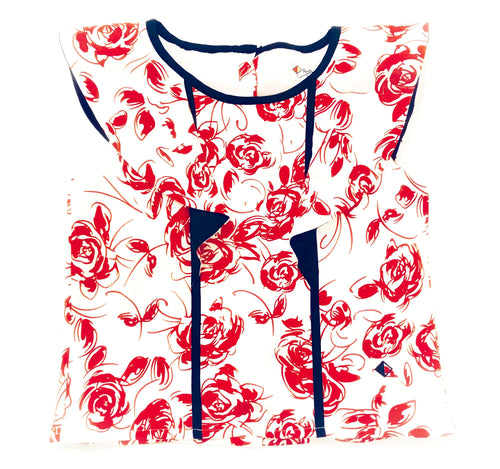 Roses Collection Alison Top Print