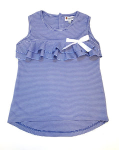 Prado Collection Girl Tunic Blue