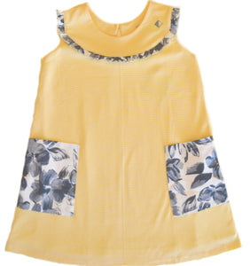Petalos Collection Emma Dress Yellow