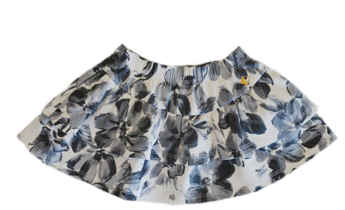 Petalos Collection Girl Skirt Grey