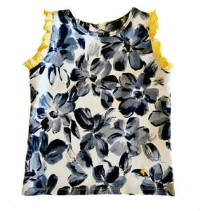 Petalos Collection Penelope Girl Top Yellow