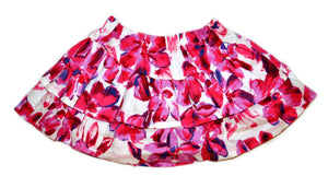 Petalos Collection Girl Flower Skirt Fushia