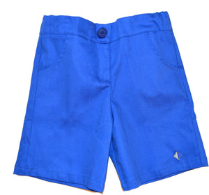 Petalos Collection Boy Short Blue