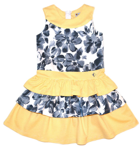 Petalos Collection Isadora Dress Yellow