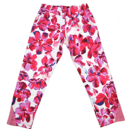 Petalos Collection Girl Flower Legging Fushia