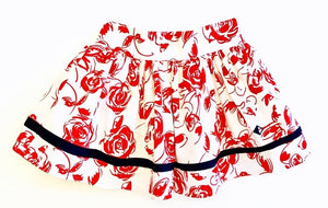 Roses Collection Girl Bea Skirt Print