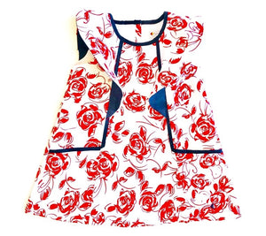 Roses Collection Alison Dress Print