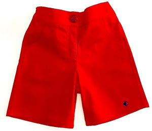 Roses Collection Boy Short Red