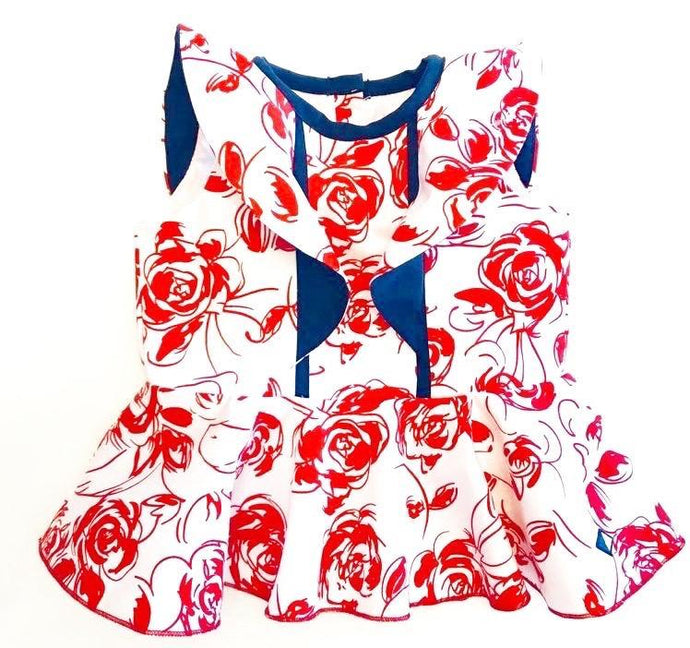 Roses Collection Baby Onesie Print
