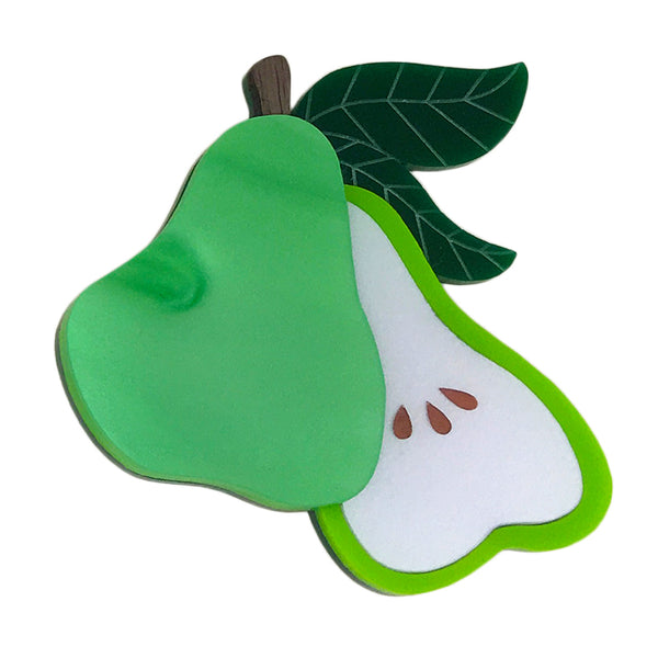 PERFECT PEAR BROOCH