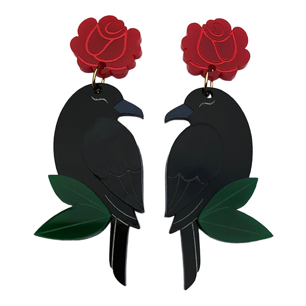 RAVEN ROSE EARRINGS