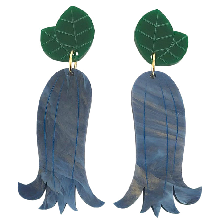 BUDDING BLUEBELL EARRINGS