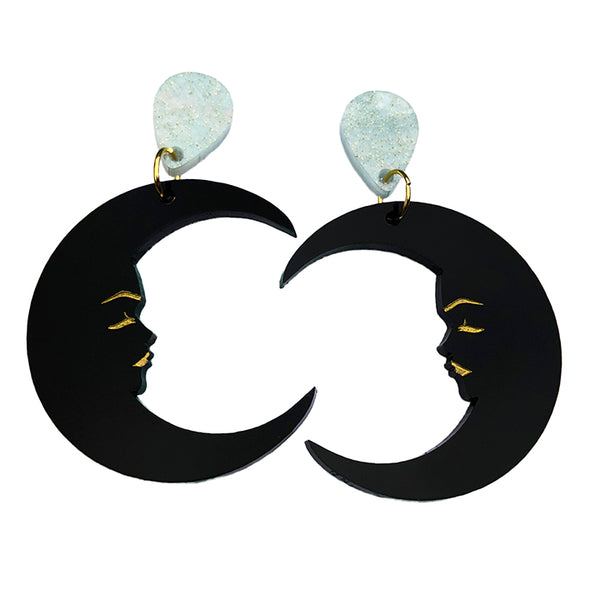 MARVELOUS MAVIS MOON EARRINGS