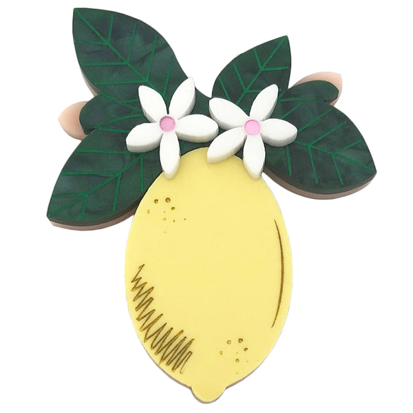 LEMON BLOSSOM BROOCH