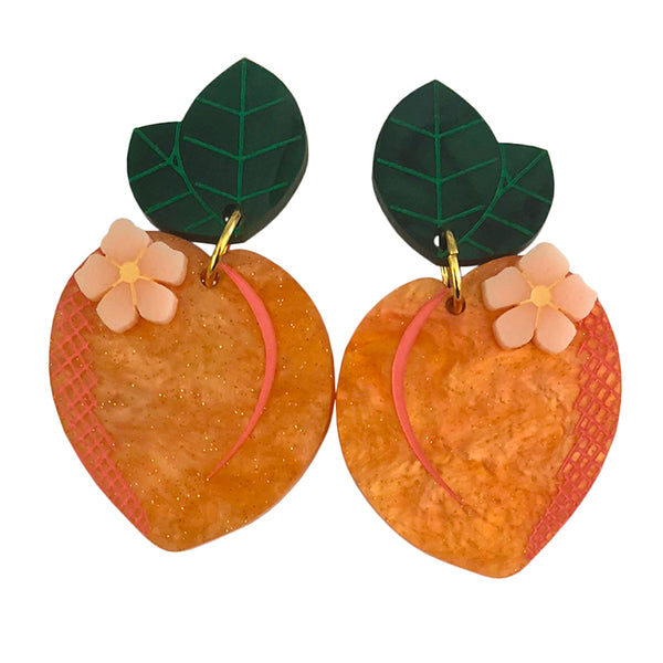 PEACHY QUEEN EARRINGS
