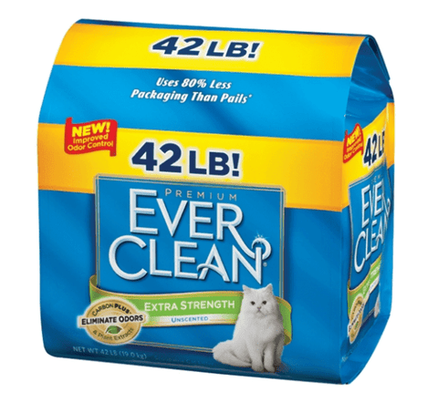 Ever Clean,Ever Clean Extra Strength Unscented Cat Litter