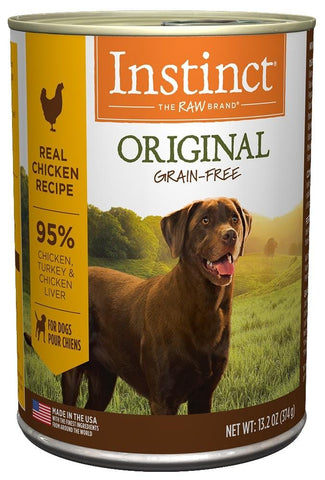 Nature's Variety,Nature's Variety Instinct Grain-Free Chicken Formula Canned Dog Food