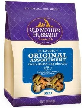 Old Mother Hubbard,Old Mother Hubbard Crunchy Classic Natural Original Assortment Mini Biscuits Dog Treats