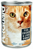 PetGuard,Petguard Fish, Chicken & Liver Dinner Canned Cat Food