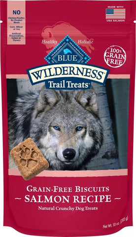 Blue Buffalo,Blue Buffalo Wilderness Trail Grain Free Salmon Dog Treats