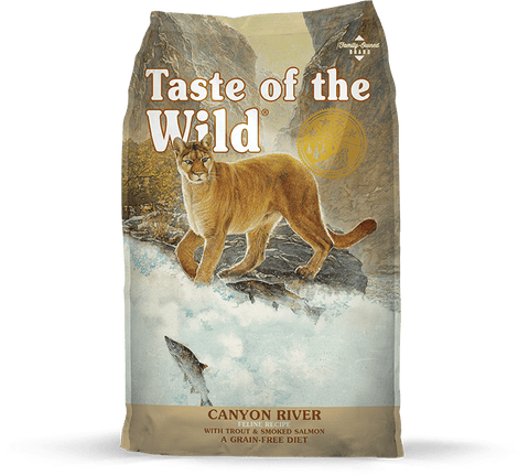 Taste Of The Wild,Taste Of The Wild Canyon River Dry Cat Food