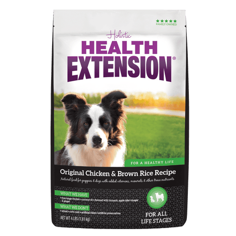 Health Extension,Health Extension Original Chicken and Brown Rice Dry Dog Food